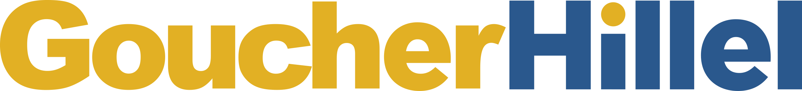 Goucher Hillel Logo